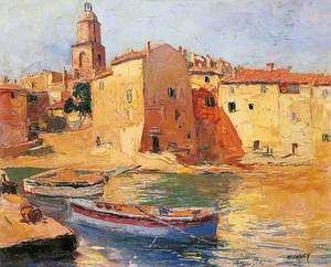 French Harbour Scene
