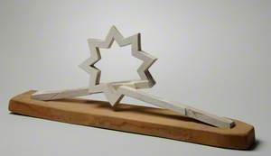 Maquette for the Charing Cross Triple Starhead Commission, London: Wake