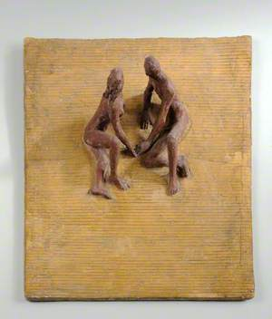 Maquette for the Sculpture at Station Gate on the South Bank for the Festival of Britain: The Sunbathers