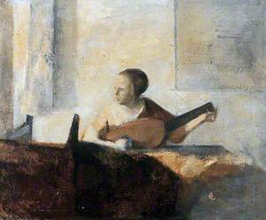 Translation of Vermeer's 'Lady with the Lute'