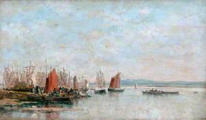 Débarquement de la sardine à Douarnenez