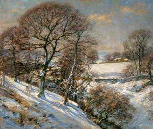 Winter in Wharfedale