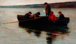A Child's Funeral in the Highlands