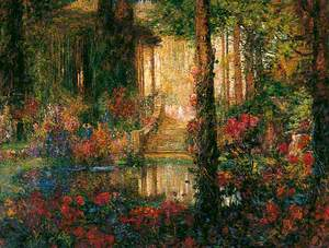 The Garden of Enchantment from 'Parsifal'