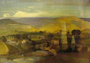 Landscape, View in Wharfedale