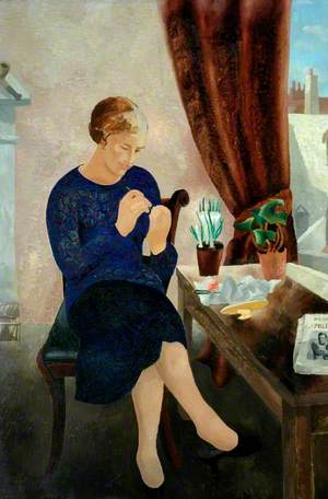 The Manicure (Portrait of Frosca Munster)