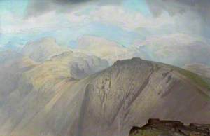 Skiddaw from Great Gable