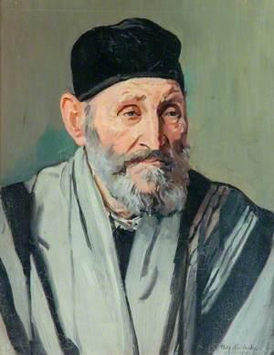 Portrait of a Man in a Prayer Shawl