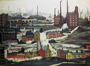 Industrial Landscape, Ashton-under-Lyne