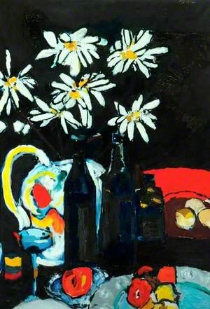 Still Life and White Marguerites