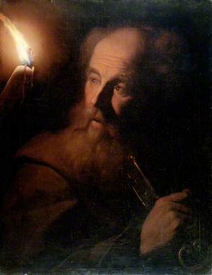 Saint Peter by Candlelight