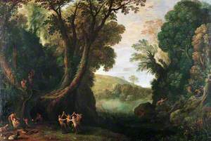 Landscape with Satyrs