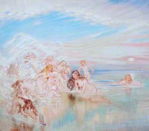 Nymphs at the Seashore