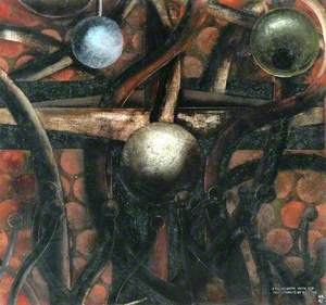 Crucifixion with the Instruments of Torture