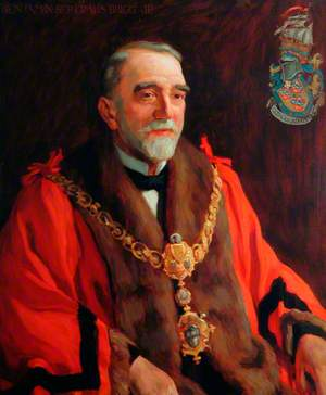 Benjamin Septimus Brigg, First Mayor of Keighley (1882)
