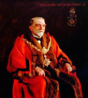 Benjamin Septimus Brigg, First Mayor of Keighley