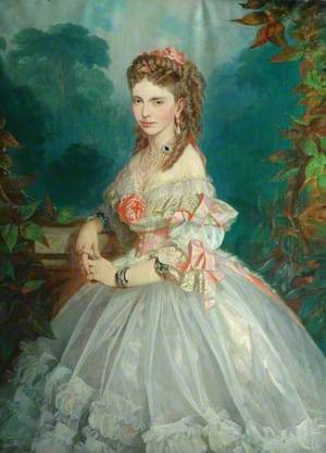 Mary Louise Roosevelt Butterfield née Burke (1838-1867), wife of Henry Isaac Butterfield
