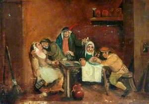 Scene in an Ale House
