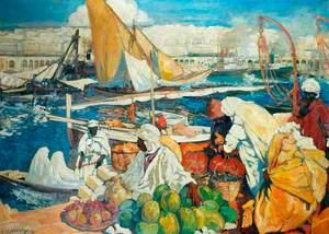 Alger la Blanche, Quay Scene, Algiers