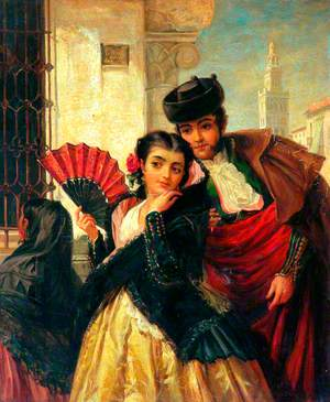Scene in Spain, near Seville