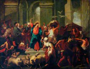 Christ Expelling the Sellers from the Temple