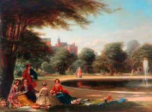 Hampton Court, the Fountain