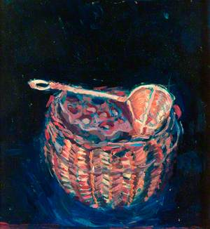 Still Life, Basket with Scoop