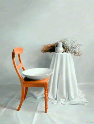 Still Life, Chair and Bowl