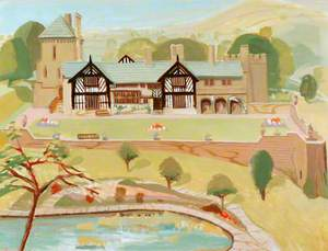 Shibden Hall, View of the Exterior