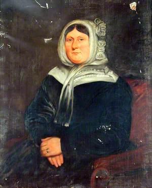 Portrait of an Unknown Lady with a Bonnet