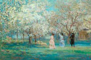 The Orchard in Flower
