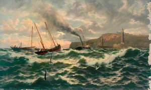 'Gainst Wind and Tide, off Whitby