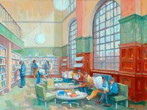 Dewsbury Library Interior