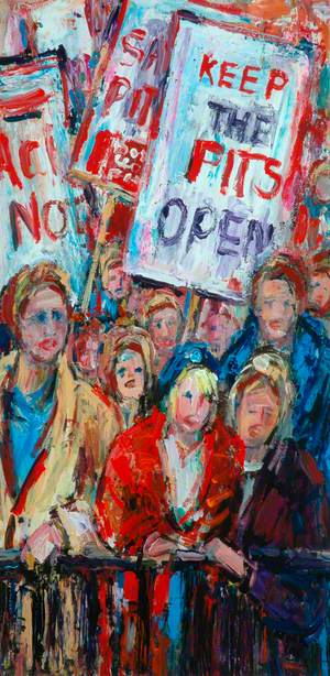 'Keep the Pits Open', Protest