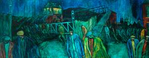 The Crossing (Colliery at Night)