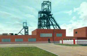 Kilnhurst Colliery, South Yorkshire