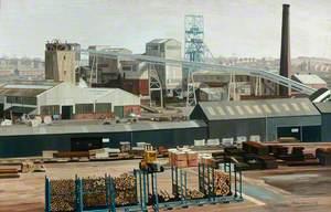 Kiveton Park Colliery, South Yorkshire