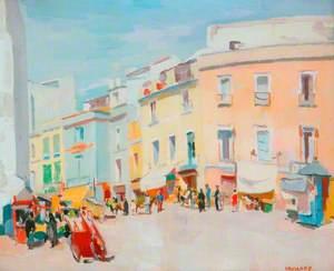 Street Scene, Seville