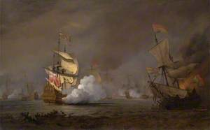 Sea Battle of the Anglo-Dutch Wars