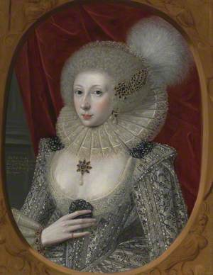 Portrait of a Woman, Possibly Elizabeth Pope (active c.1585–1624)