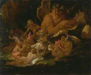Puck and Fairies, from 'A Midsummer Night's Dream', Act II, Scene II