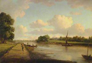View on the River Thames at Richmond