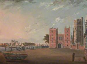 Lambeth Palace from the West
