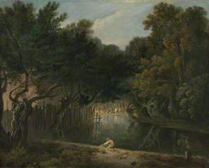 View of the Wilderness in St James's Park