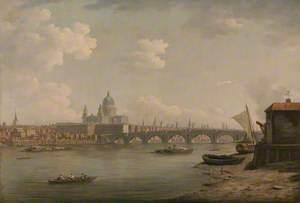 St Paul's and Blackfriars Bridge