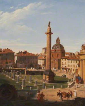 A View of Trajan's Forum, Rome