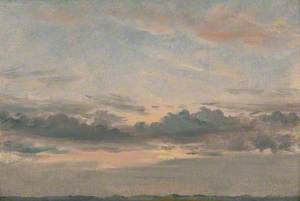 A Cloud Study, Sunset