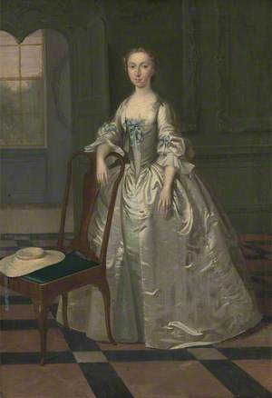 A Lady in a Drawing Room