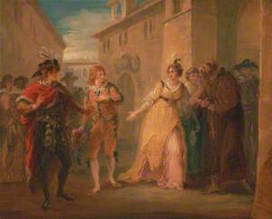 The Revelation of Olivia's Betrothal, from 'Twelfth Night', Act V, Scene I