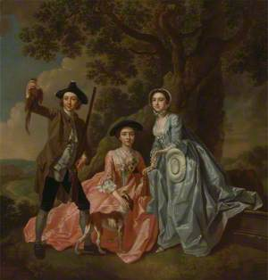 George Rogers and His Wife, Margaret, and His Sister, Margaret Rogers